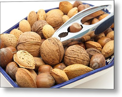 Nuts Metal Print by Tom Gowanlock