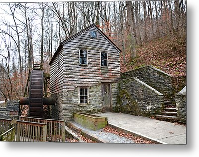 Metal Print featuring the photograph Old Grist Mill by Paul Mashburn