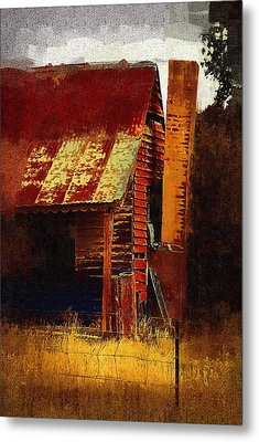 Old House In Australia Metal Print