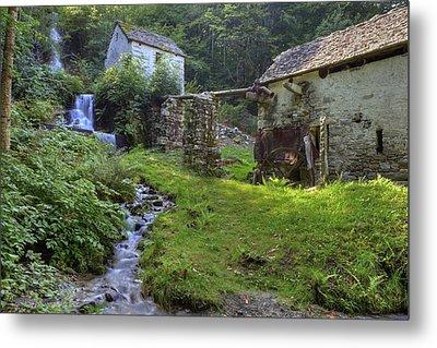 Old Watermill Metal Print by Joana Kruse