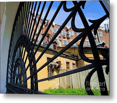On Street Peterburg Metal Print