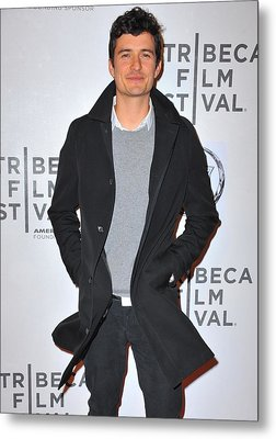 Orlando Bloom At Arrivals For The Good Metal Print