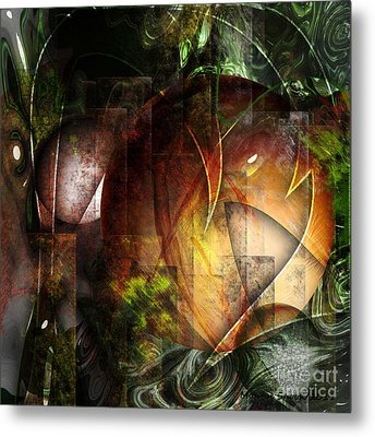 Other World Metal Print by Monroe Snook