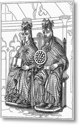 Otto I (912-973) Metal Print by Granger