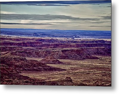 Painted Valley 2 Metal Print by Dennis Sullivan