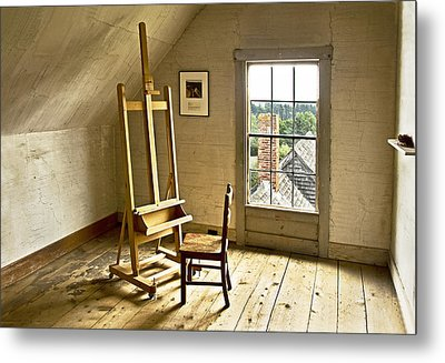 Metal Print featuring the photograph Painters Loft by Gordon Ripley