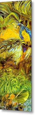 Parrot Metal Print by Anne Weirich