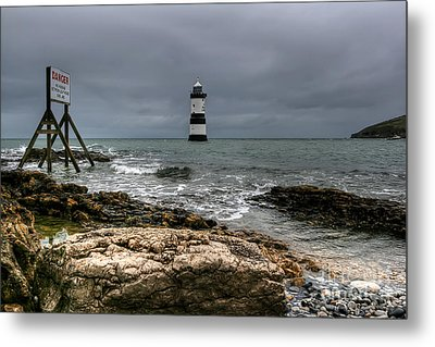 Penmon Point Metal Print by Adrian Evans