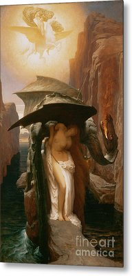 Perseus And Andromeda Metal Print by Frederic Leighton