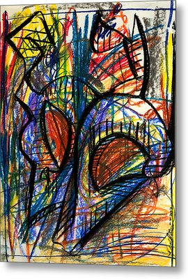 Picasso Metal Print by Sheridan Furrer