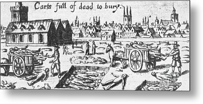 Plague, 1665 Metal Print by Science Source