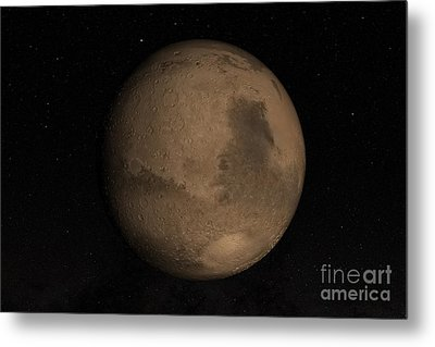 Planet Mars Metal Print by Stocktrek Images