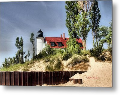 Metal Print featuring the photograph Point Betsie Lighthouse II by Joan Bertucci