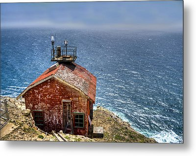 Point Reyes Lighthouse Metal Print by Diego Re