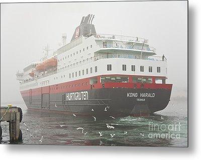 Post Ship  Metal Print by Heiko Koehrer-Wagner