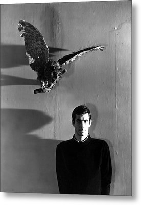 Psycho, Anthony Perkins, 1960 Metal Print