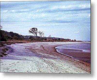 Quiet Cove  Metal Print by Phill Doherty