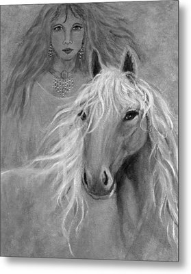 Rhiannon Metal Print by The Art With A Heart By Charlotte Phillips