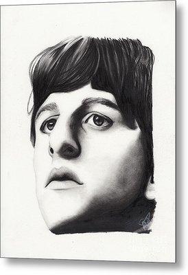 Ringo Starr Metal Print by Rosalinda Markle