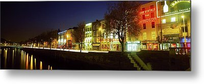 River Liffey, Dublin, Co Dublin, Ireland Metal Print by The Irish Image Collection