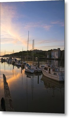 River Suir, From Millenium Plaza Metal Print by The Irish Image Collection