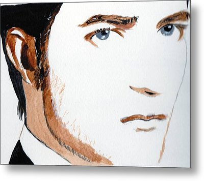 Robert Pattinson 3 Metal Print