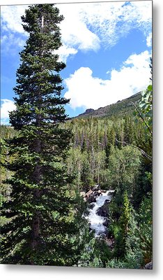 Metal Print featuring the photograph Rocky Mountain National Park2 by Zawhaus Photography