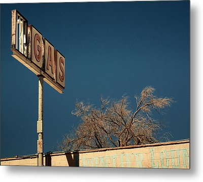 Route 66 Metal Print by Aurica Voss