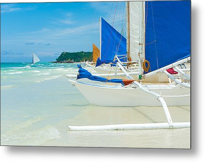 Sailing Boats Metal Print by Hans Engbers