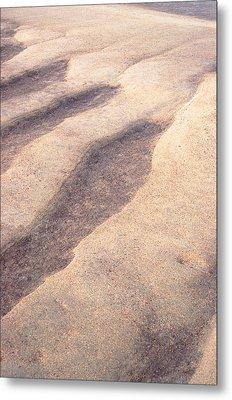Sand Waves Metal Print by John Foxx