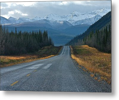 Metal Print featuring the photograph Scenic Highway by Scott Holmes