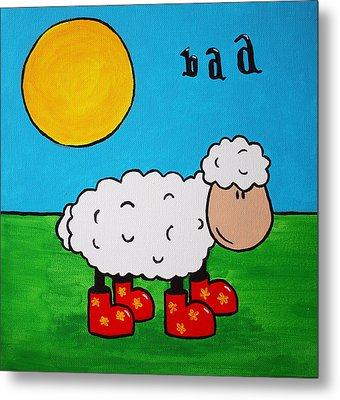 Sheep Metal Print by Sheep McTavish
