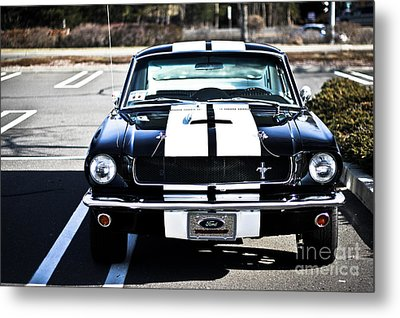 Shelby Gt350 Metal Print by Andrew  Cragin