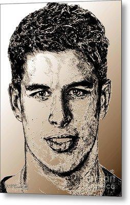 Sidney Crosby In 2007 Metal Print by J McCombie