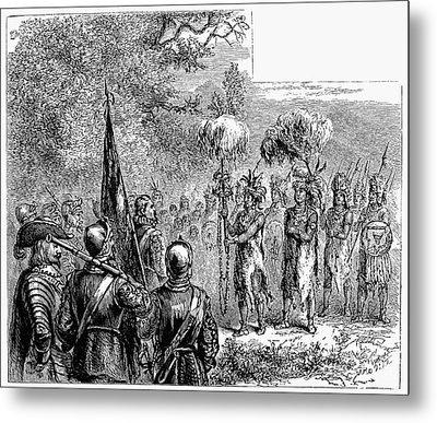 Sir Francis Drake Metal Print by Granger