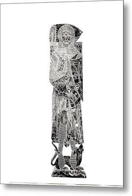 Sir Roger De Trumpington  Metal Print by John Dillon