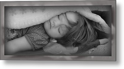 Sleeping Beauty Metal Print by Elizabeth  Doran