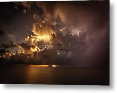 Sliver Sunrise II Metal Print by Mabry Campbell