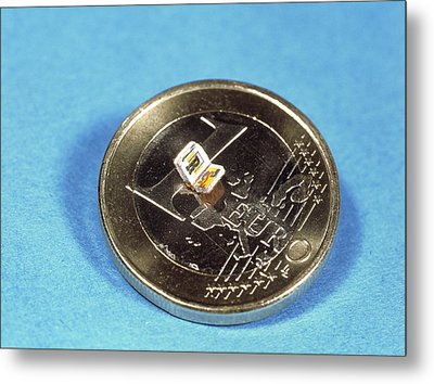 Smallest Book Metal Print by Volker Steger