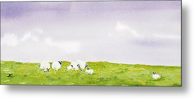 Spring In Ireland Metal Print