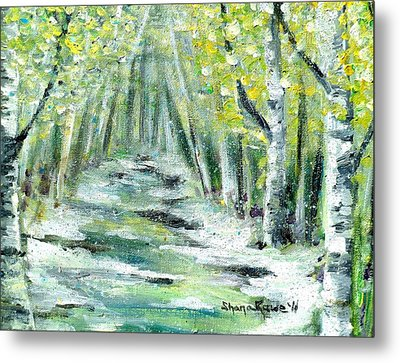 Metal Print featuring the painting Spring by Shana Rowe Jackson