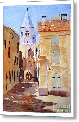 St Martin's Tower France Metal Print