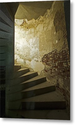 Metal Print featuring the photograph Staircase Down Into The Demilune by Gordon Ripley