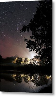 Starry Night Metal Print by Laurent Laveder