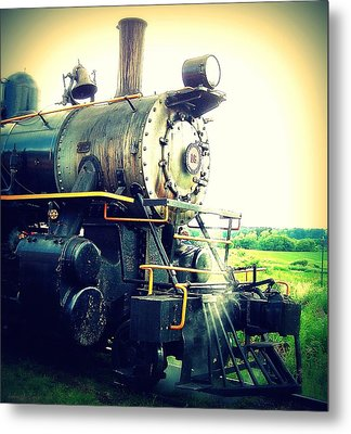 Steam Engine 18 Metal Print by John Carncross