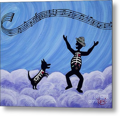 Still Dancing Metal Print