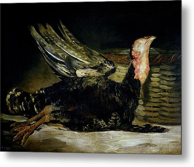 Still Life Metal Print by Goya