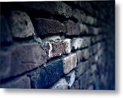 Stone Wall Metal Print by Joana Kruse