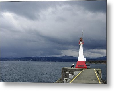 Metal Print featuring the photograph Stormwatch by Marilyn Wilson