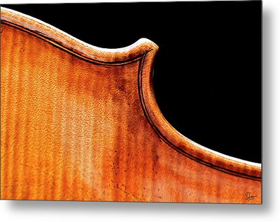 Metal Print featuring the photograph Stradivarius Back Corner by Endre Balogh
